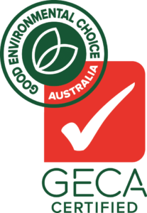 All our products are certified sustainable by Good Environmental Choice Australia