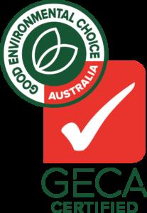 GECA Ecolabel Certified