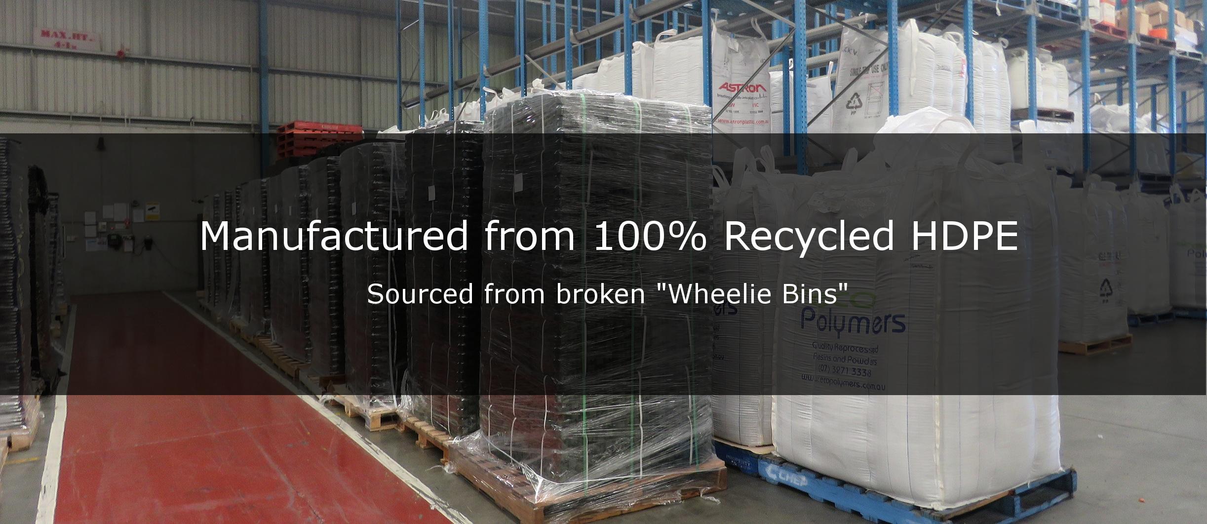 recycled plastics