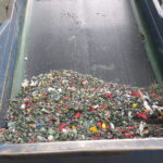 Shredded HDPE Bins for Recycling